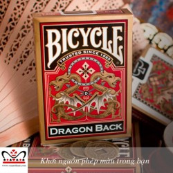 Bicycle® Dragon Back Playing Cards