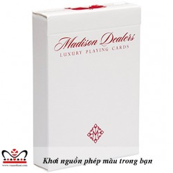 MADISON DEALER PLAYING CARDS
