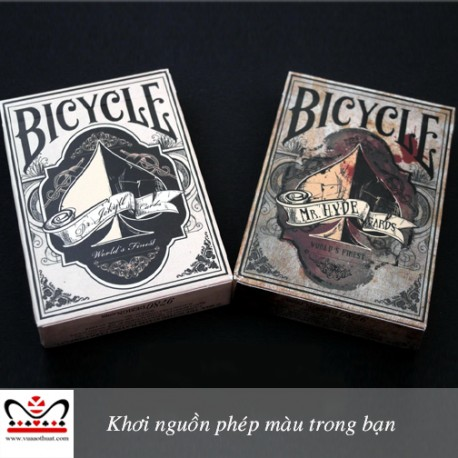 Bicycle Dr. Jekyll & Mr. Hyde Playing Cards -vuaaothuat.com