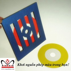Đĩa đổi màu - Visual Color Changing CD