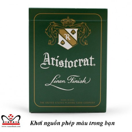 Aristocrats Green Playing cards